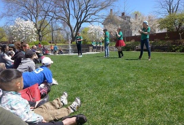 Boston springtime activities with kids 2017